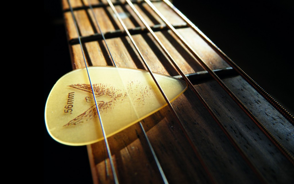 Guitar Fretboard Wallpaper