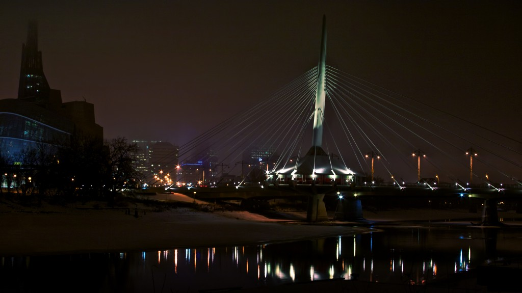 Provencher Bridge Winnipeg, Manitoba